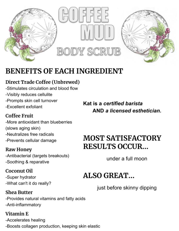 Coffee Mud Info Sheet